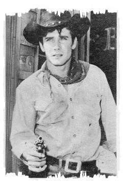 Robert Fuller as Jess Harper in Laramie