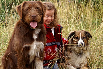 Maggie and dogs