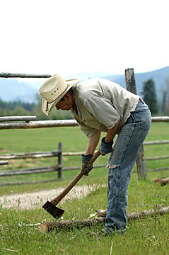 fixing fence