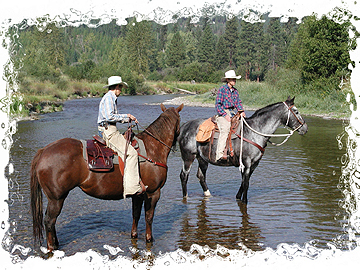 Fording the Fisher River